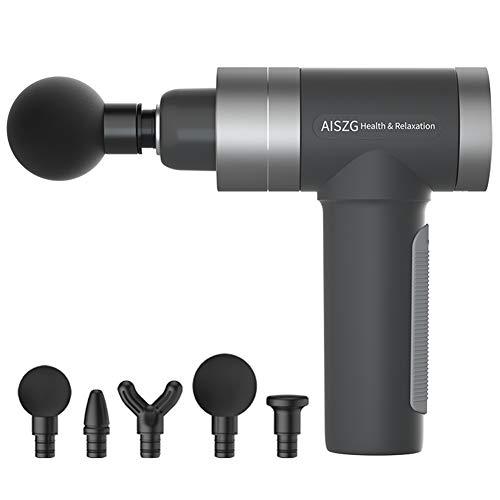 Anaric-Tih Faszienpistole Muskelmassagegerät Fitness Muskelentspanner Elektrische Massage USB Aufladen, 0, GY1