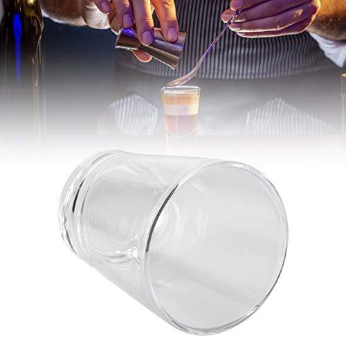 Taza de la leche, taza de café anti-escaldado del vaso de medida de las tazas de Drinkware del vidrio de café para el hogar
