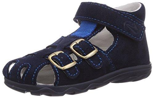 Richter Kinderschuhe Terrino 2106-521, Chaussures Premiers Pas pour bébé (garçon) - Bleu - Blau (Atlantic/Lagoon 7201), 19 EU
