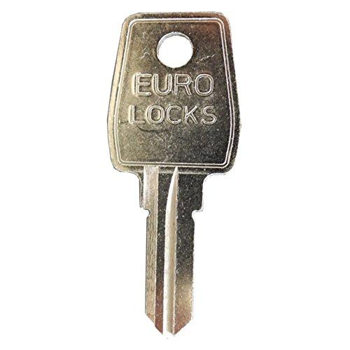 EuroLocks Ersatzschlüssel - Schließung 2001 bis 2200 bzw. T2001 bis T2200 - für Hebelzylinder,Briefkastenschlösser,Wohnmobile - Schließung 2001 / T2001