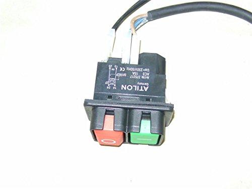 ATIKA Ersatzteil | Ein-/Aus Schalter 230V für Betonmischer SX 165 S / SX 185 S