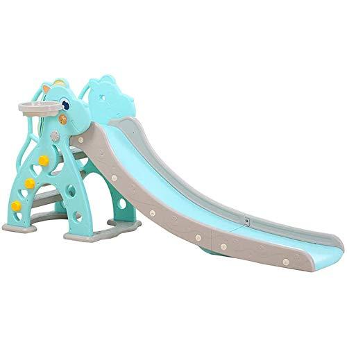 Toboganes de deslizamiento independientes para niños Parque infantil en casa Juguete de plástico Marco diapositivas para interiores y exteriores Escaleras para subir Parque de atracciones para bebés