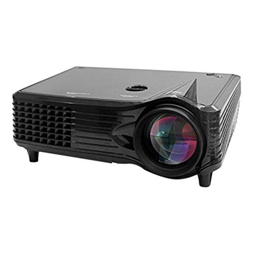 Proiettore LCD LED proiettore 2000Lumen leggero compatto e portatile 800* 480HDMI Cavo USB/SD/VGA/AV/Laptop