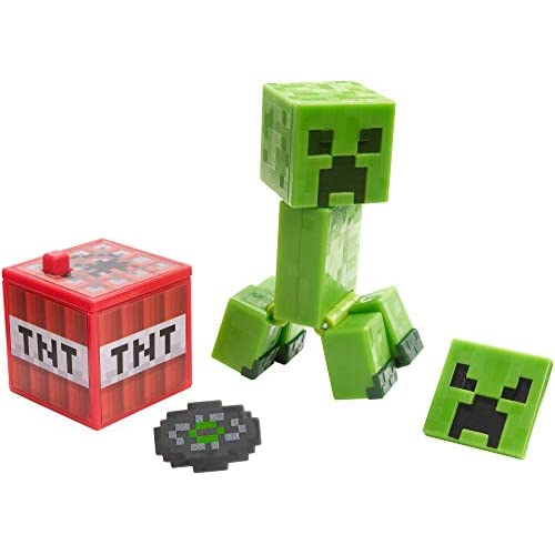 Minecraft: Comic Maker - Creeper Action Figure