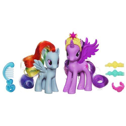 Hasbro My Little Pony Princess Twilight Sparkle And Rainbow Dash Figure