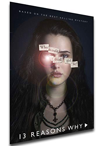 Instabuy Poster - TV Series - Playbill - 13 Reason Why Variant 01 Manifesto 70x50