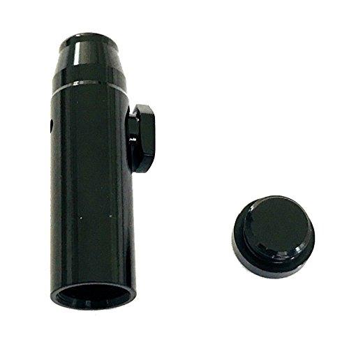 M&M Smartek Dosierer Portionierer sniff Snuff Bottle Sniffer Spender Schnupf Dispenser Metall Deutschland Farbe (Schwarz)