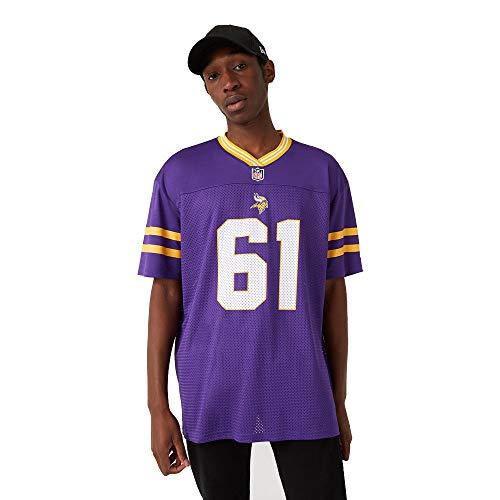 New Era Minnesota Vikings T-Shirt/Tee - NFL Logo Oversized Tee - Purple - 3XL