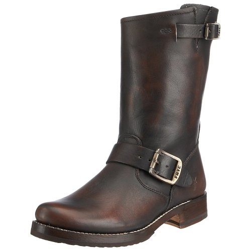 FRYE 3814L Stivali Donna marroni Veronica Shortie Scarpe Boots Shoes Women [36]