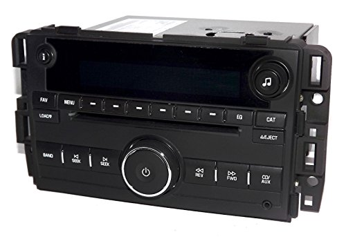 1 Factory Radio AM FM 6 CD Player Radio w Aux Input UNLOCKED Compatible With 2007-10 Chevrolet Truck 25782842