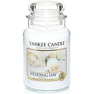 Yankee Candle Large Jar Candle, Wedding Day:Priorcastleinnvictoria