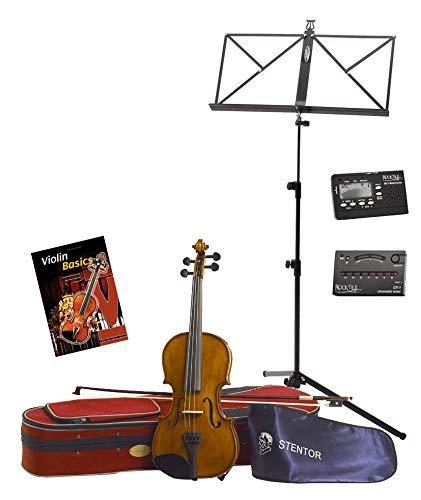 Stentor SR1500 1/2 Student II viool set incl. accessoires & noten