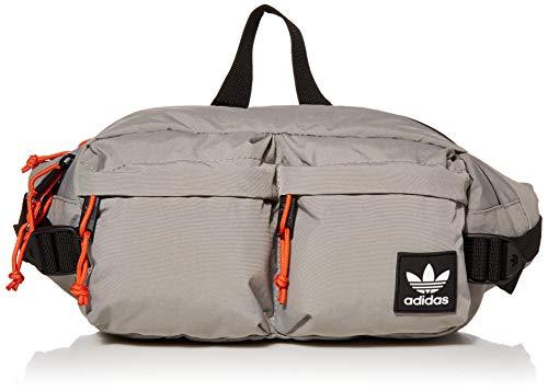 adidas Originals Unisex Urban Utility II Crossbody Bag, Dove Grey/Glory Amber, ONE SIZE