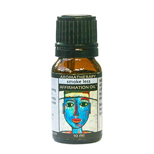 Earth Solutions (ES) Essential Oils Blend | Smoke Less Affirmation Oil 10ml | an Anti Anxiety Essential Oil or Meditation Oil to Help Stop Smoking
