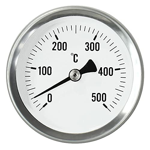 Termómetro de horno de leña, termómetro para la construcción de puertas, horno de pizza