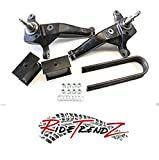 RTZ - Compatible with Ford Ranger Pickup 01-13 Full Lift Kit 4' Front Lift Iron Spindles + Rear 4' Steel Lift Block Kit 2wd (Fits Coils Suspension only)