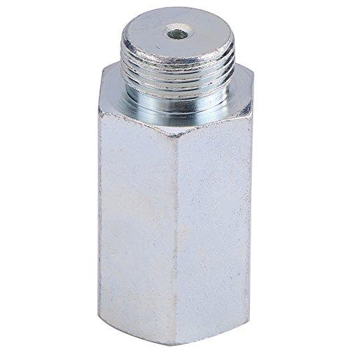 Keenso O2 Sauerstoffsensor Spacer Extender Spacer Adapter für Decat Wasserstoff Edelstahl Lambda M18 x1.5