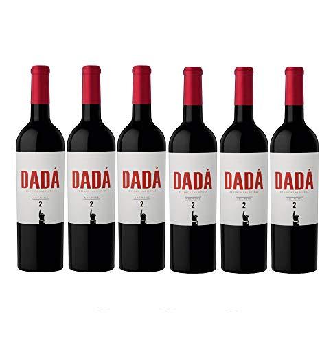 Finca Las Moras DADÁ No.2 Rotwein veganer Wein trocken Argentinien (6 Flaschen)