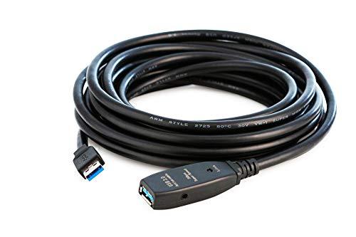 MutecPower 7.5m USB 3.0 Macho a Hembra del Cable con chipset de...