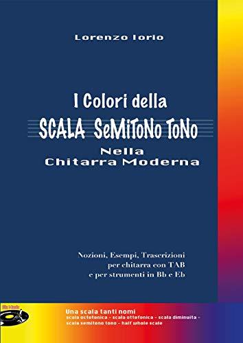 I colori della scala semitono tono nella chitarra moderna