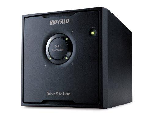 Buffalo HD-QH16TU3R5-EU DriveStation Quad Externe Festplatte 16TB (8,9 cm (3,5 Zoll), 4X 4TB, USB 3.0, 4X SATA)
