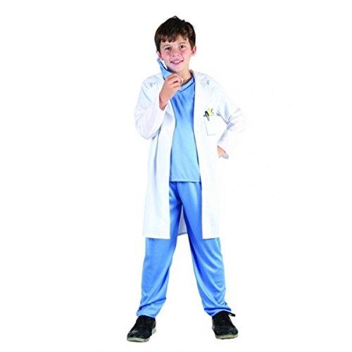 Vegaoo - Disfraz de Médico Para Niño - L 10-12 Años (130-140 Cm)