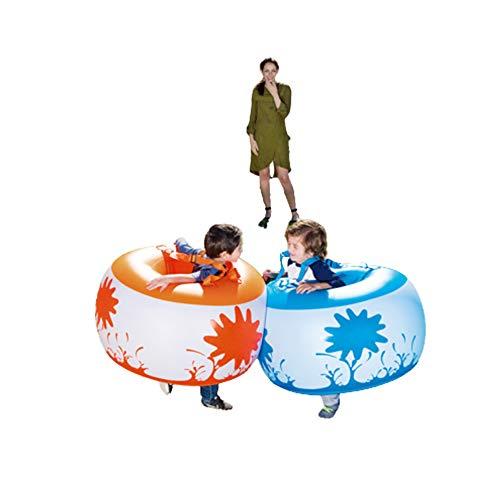 XWSD 2 pelotas hinchables para niños, plegables, enrollables, muy seguras, para entrenamiento de interés de los niños, coordinación mano-ojo.