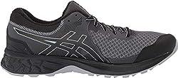 ASICS Men's Gel-Sonoma 4 Running Shoes, 8.5M, Black/Stone Grey