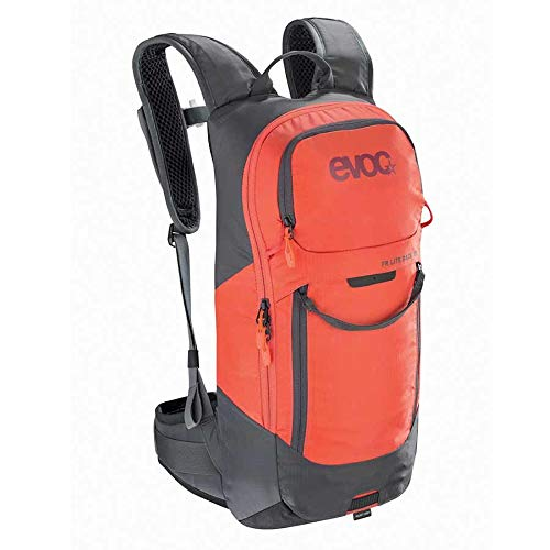 evoc, FR Lite Race, Protector Backpack, 10L, Carbon Grey/Orange, ML