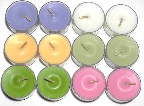 Frühlingsbox 2021-2 - 12 Stck. Partylite Teelichter - Zusammenstellung der Box von TROICA - Produktbeschreibung siehe unten -