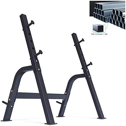 Byakns Hogar o Comercial Squat Ropdip Stands Squat Rack Bench Press Stefer Multifuncional Weight Lifting Bed Bed Bed Squat Rack Home Fitness Silla Fitness Equipment (Color : 108 * 84 * 130cm)