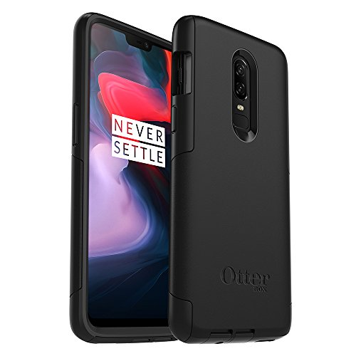OtterBox Commuter Series Case for OnePlus 6 - Retail Packaging - Black