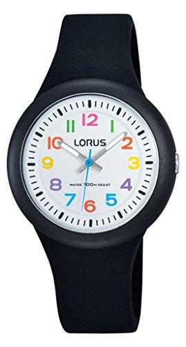 Lorus Watches Unisex Analog Quarz Uhr mit Kautschuk Armband RRX41EX9
