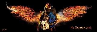 Fireman Rescue by Jason Bullard Firefighter Honor Servicemen Print Poster 36x12