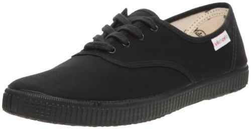 victoria - Zapatillas de deporte de tela para mujer, Negro, 39