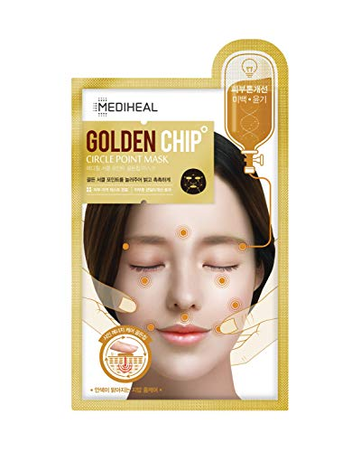 GOLDEN COLOR CIRCLE POINT MASK サークルポイントマスク