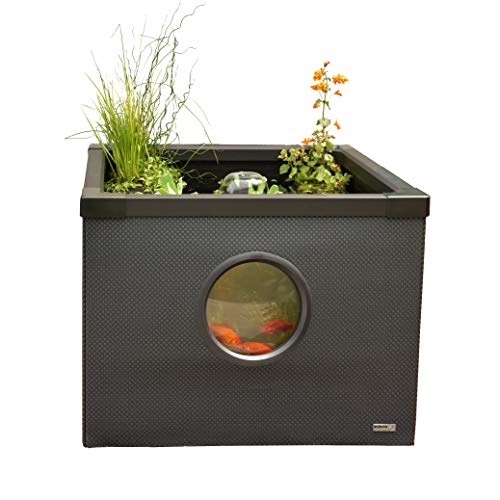 Hozelock 3085 0000 Above Ground Outdoor Fish Pond, Bl