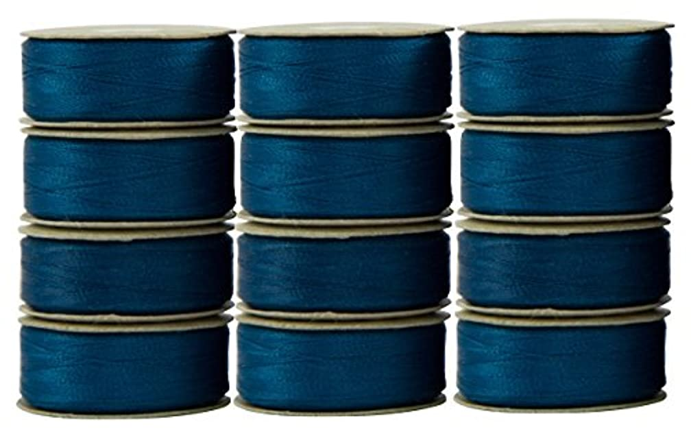 Superior Threads 114-M-12611 Bobbin Turquoise 12 Count M Style Prewound Super Bobs