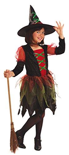 My Other Me Me-200033 personajes fántasticos Disfraz de Brujita de colores para niñas, 3-4 años (Viving Costumes 200033)