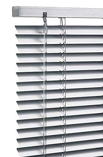 Store vénitien aluminium bg blanc 120 x 140