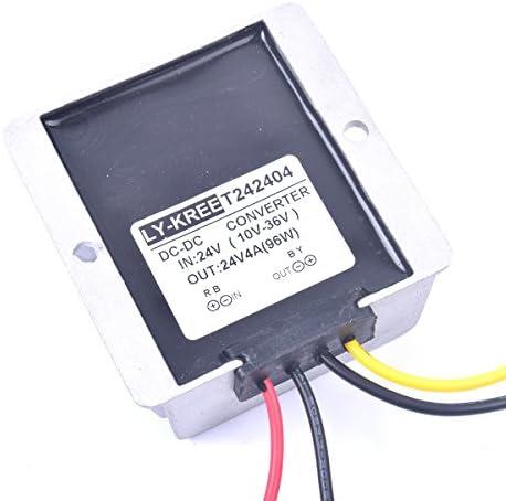 DC 24V 4A Voltage Stabilizer Surge Protector Power Supply Regulator for Trailer Motorhome Camper product image