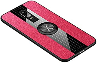 Custodia® Firmness Smartphone Case with Ring for OnePlus 6(1)