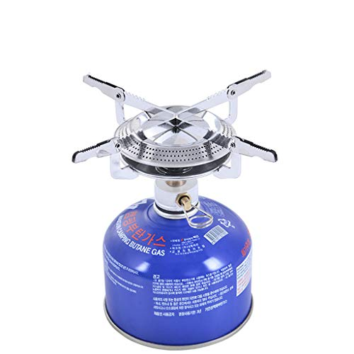 Review Of Sunnyadrain Outdoor Picnic-Gas Burner Portable Backpacking Camping Hiking Mini Stove Silve...