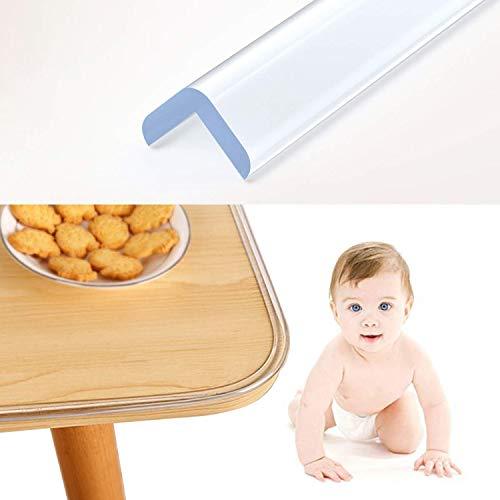 Wemk Protezione spigoli, 6.1M Paraspigoli Bambini, Proteggi la sicurezza dei bambini, Addensare e allargare design