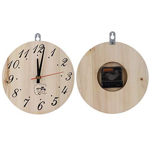 Jingyig Home Decor Sauna Raumuhr Dekorative Timer Uhr Saunauhr Sauna Zubehör Sauna Timer Sauna Timer Uhr Wohnzimmer für Bad