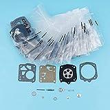 20 unids/lote kit de reparación de diafragma de carburador compatible con Husqvarna 61 66266268272281 Jonsered 625630670 motosierra Tillotson RK-23HS Piezas de repuesto