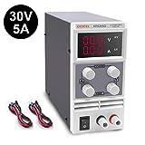 Eventek KPS305D Alimentatore da Laboratorio DC Regolabile Stabilizzato, Alimentatore da Banco 0-30V / 0-5A