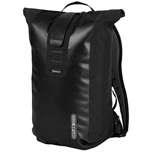 Ortlieb Unisex Velocity Backpack 17 Litre Back Pack Waterproof Zip Outdoor Sport Black One Size
