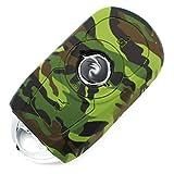 Schlüssel Hülle OD für 3 Tasten Auto Schlüssel Silikon Cover von Finest-Folia (nur Keyless GO) (Camouflage)