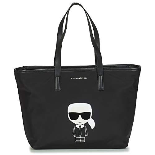 Karl Lagerfeld damen k/ikonik Handtaschen nero